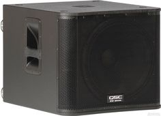 For events the require really BIG sound - this one does the job - The QSC Powered Sub Dj Sound, Dj Gear, Powered Subwoofer, Best Dj, Geek Out, Marshall Speaker, Audio, Events, Club