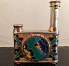 Rare-Vintage-Art-Deco-Vanity-Kid-French-Compact-Adomizer