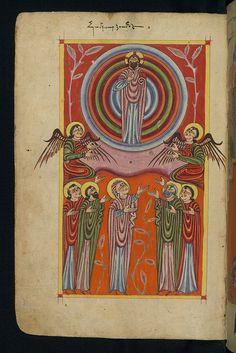 Armenian Gospel, Ascension of Christ, Walters Manuscript W.543, fol. 11v | Flickr - Photo Sharing!