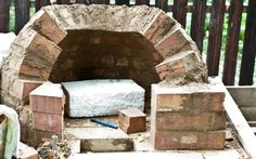 Fantastic step by step, how to build your own pizza oven