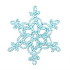 Crochet Snowflake: Auvergnasse