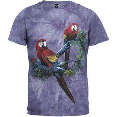 Scarlet Macaws - T-Shirt