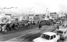 Feria mundial de la pesca en Bouzas, año 1973.