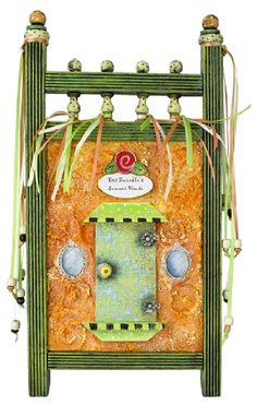 Summer Fairy Door -- Indulge your sense of magic with this colorful accent.