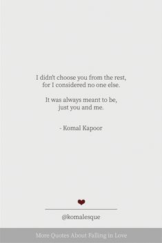 More Quotes About Falling in Love - Komal Kapoor