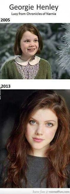 Georgie Henley as Lucy from the Chronicles of Narnia. Oh my goodness this is perfect.