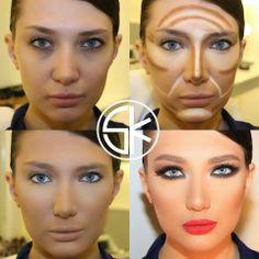 Wake up to makeup