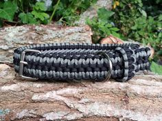 Its time to make your dog stand out from the crowd and our hand crafted adjustable paracord dog collars can make that happen with over 100 feet