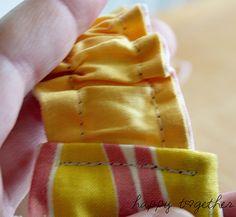 Double Sided Fabric Headband Pattern