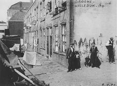 Groene hilledijk 1925 Rotterdam, Netherlands, Street View, History, Abstract, Places, Artwork, Vintage, Nostalgia