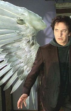 """Alan Rickman as The Metatron in the comedy """"Dogma"""" 1999"""
