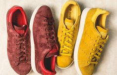 """Adidas Originals Stan Smith """"Suede Pack"""" - http://athlitika-papoutsia.gr/adidas-originals-stan-smith-suede-pack/"""