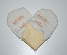 Bamboo scratch mittens, newborn, soft and comfortable by leonorafi on Etsy