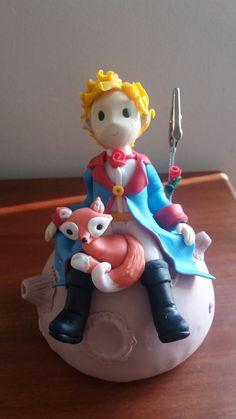 El Principito-Der Kleine Prinz-The Little Prince en porcelana fria