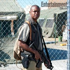 Lawrence Gilliard, Jr. actor.Season 4, The Walking Dead.
