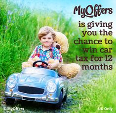Enter free car competitions at MyOffers and win a car, road tax, free car insurance for the year or many more exciting motoring prizes online! Win A Car Competition, Free Car Insurance, Car Competitions, Win Car, Free Cars, 12 Months