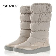 For -30 Degree Women Boots Winter Boots New 2017 Brand Waterproof Shoes Woman Snow Boots Fur Plush I #Affiliate