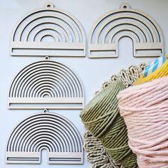 🐣. Offer Xtras! rainbow wall hanging frame, rainbow loom, rainbow wall hanging diy, wall hanging diy, rainbow frame, macrame frame, weaving loom, macrame for $14.00 #ModernMacrame #MacrameRainbow #RainbowWallArt #MacrameDiy #RainbowDiy #RainbowCraft #MacrameKit #NurseryWallArt #RainbowBaby #DiyWallHanging Hanging Frames, Art Frames, Wood Frames, Rainbow Wall, Rainbow Loom, Macrame Supplies, Rainbow Crafts, Macrame Patterns, Loom Weaving