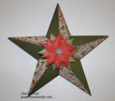 Roxybonds Scrappers Team Blog Hop- Pear & Partridge  STAR