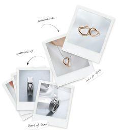 super pretty heart jewelry