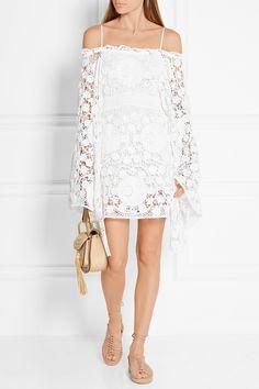 Ivory cotton Slips on 100% cotton; lining: 100% silk Dry clean Designer color: Milk