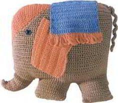 crochet pattern for elephant