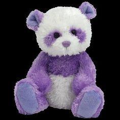 so cuddly! Beanie Baby Bears, Ty Beanie Boos, Purple Love, Purple Rain, Purple Things, Cute Stuffed Animals, Cute Animals, Ty Bears, Beanie Buddies