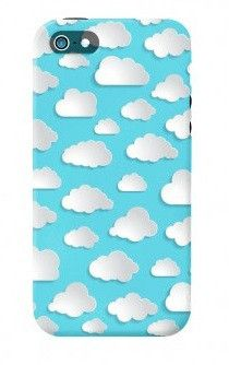 Clouds iPhone 5 Case: http://shop.nylonmag.com/collections/whats-new/products/clouds-iphone-5-case #NYLONshop