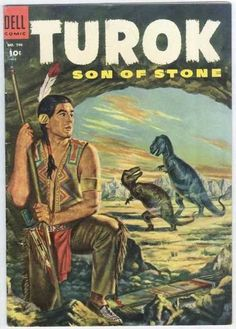 Turok: Son of Stone #1 - Dell Comics - issues 30 on Gold Key