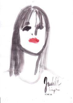 portrait jl - heleen peeters illustratie