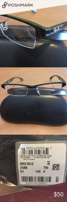 RayBan Optical RX Frame Tort-green arms  NWT RayBan Optical RX Frame Tort-green arms  NWT fast Shipper Ray-Ban Accessories Glasses