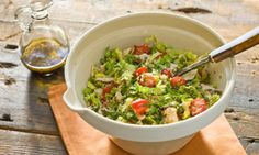 Couscous with Chicken Salad