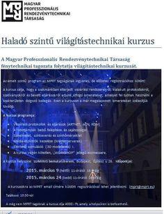 Haladó szintű világitástechnikai kurzus aProAudio