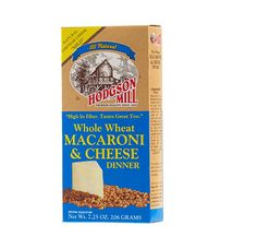 Hodgson Mill Whole Wheat Macaroni & Cheese Dinner