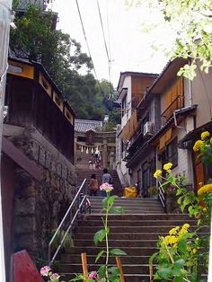 石段の町・尾道 / Onomichi – there's so many stone stairs, alleys…  AtElIEr dIA DiAiSM ACQUiRE UNDERSTANDiNG TjAnn  MOHD HATTA iSMAiL DiA ArT TraVeL TJANTeK ArT SPACE