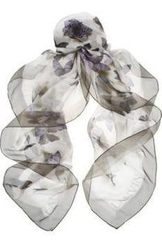 Gifts for women - Lanvin Printed silk-muslin scarf.jpg