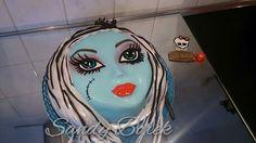 Monster High Torte Monster High Cake Fanky Stone Torte Franky Stone Cake  Fondant #monsterhighcake #frankystonecake