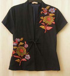 Skirt outfits indian blouses 41 Ideas for 2019 Blouse Batik, Batik Dress, Blouse Dress, Black Summer Outfits, Casual Summer Dresses, Batik Fashion, Skirt Fashion, Fashion Dresses, Winter Skirt Outfit