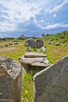 Les Fouaillages Neolithic burial chamber is one of Europe's oldest man-made structures, dating back beyond 4500BC. It's one of many prehistoric dolmens that can be seen in Guernsey.
