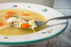 back to the roots. Hühnersuppe - Rosół - yellowgirl Rezept auf dem Blog http://www.yellowgirl.at
