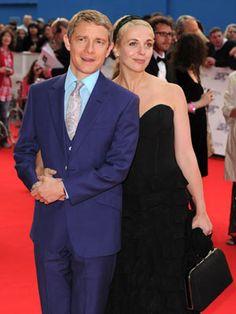 Martin Freeman and Amanda Abbington at 2010 National Movie Awards
