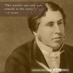 """""""The world's one and only remedy is the cross."""" - C.H. Spurgeon #cross #crossofchrist #remedy"""