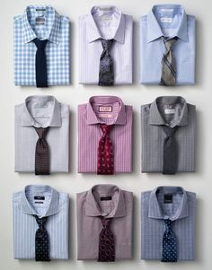 9 more ways to match a good tie with a shirt.