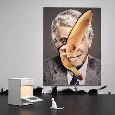 #simonbernhardt #artwork by #ursfisher #art #artgallery #exhibition #painting #instagood  @simonbernhardtphotographer