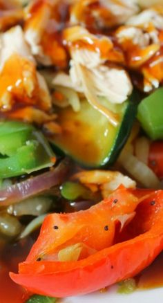 Easy Vegetable Stir Fry with Chicken