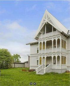Sveitserhus Mansions, House Styles, Home Decor, Decoration Home, Manor Houses, Room Decor, Villas, Mansion, Home Interior Design