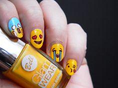 Día 2 Amarillo | Manicura de emoticones de Whatsapp | Toxic Vanity