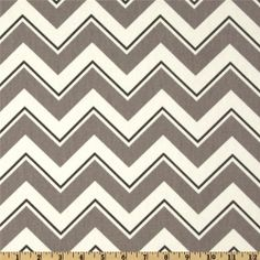 Suburban Chevrama Greystone: chevron in grey, charcoal and ivory