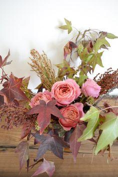 Pretty fall flowers.