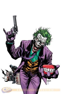 Batman is considered to have the greatest villains in comics, and with the GOTHAM TV show, he's going to need him. Art Du Joker, Le Joker Batman, Harley Quinn Et Le Joker, Joker Comic, Joker Game, Comic Art, Comic Books, Batman Superhero, Fanart Batman